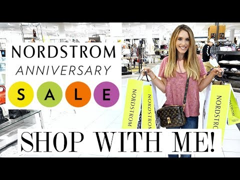 COME SHOPPING WITH ME - NORDSTROM ANNIVERSARY SALE 2017 | Shea Whitney