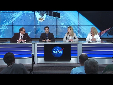 NASA Holds Post Launch Briefing to Discuss Status of SpaceX Mission to the ISS