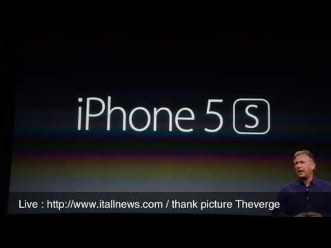 Spec iPhone 5S สเปค ไอโฟน 5เอส รายละเอียดการเปิดตัว ราคา : itallnews.com