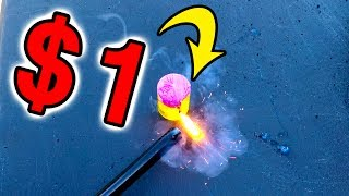 $1.00 FIREWORKS! ARE THEY WORTH IT? | MATT3756 VLOGS