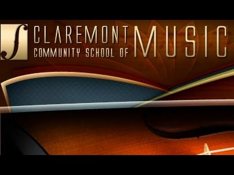 Claremont Community School of Music - YouTube Video