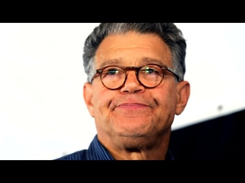Al Franken holds a news conference