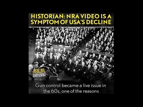 Gerald Horne: NRA Video Symptom of America in Decline