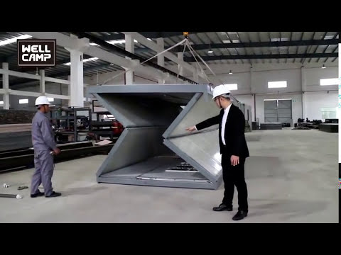 Fast Installation Cheap Assemble & Disassemble Refugee Housing for Asylum Seekers Accommodation
