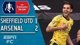 Sheffield United 1-2 Arsenal: Gunners into semis after Dani Ceballos winner | FA Cup Highlights