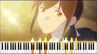 """Kimi No Suizou Wo Tabetai ED - """"Shunkashuutou"""" / """"Haru Natsu Aki Fuyu"""" (Synthesia Piano Tutorial)"""