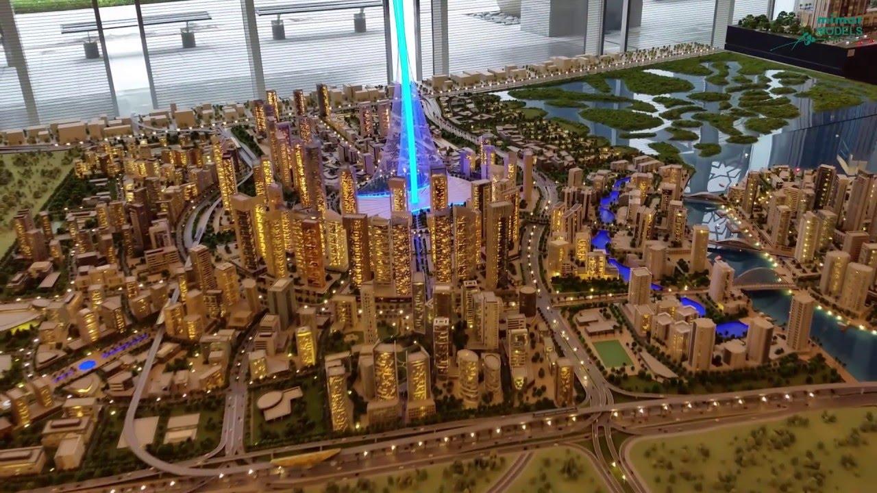 Dubai Creek Harbour Masterplan Emaar Youtube