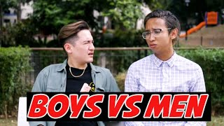Boys Vs Men
