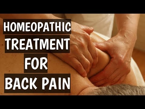 Homeopathic Treatment For Back Pain | Back Pain Medicine In Homeopathy - Dr Ritu Jain