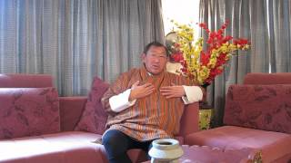 President of Bhutan Ecological Society Dasho Paljor Jigme Dorji