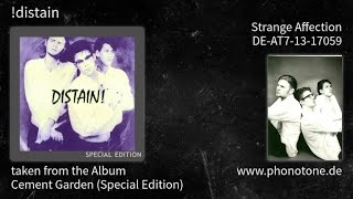 !distain - Cement Garden (Special Edition) - Strange Affection [DE-AT7-13-17059]