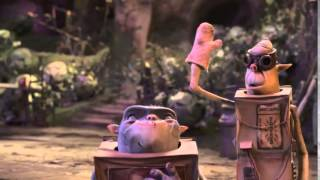 The Boxtrolls VIRAL VIDEO   Play 2014   Stop Motion Animated Movie HD