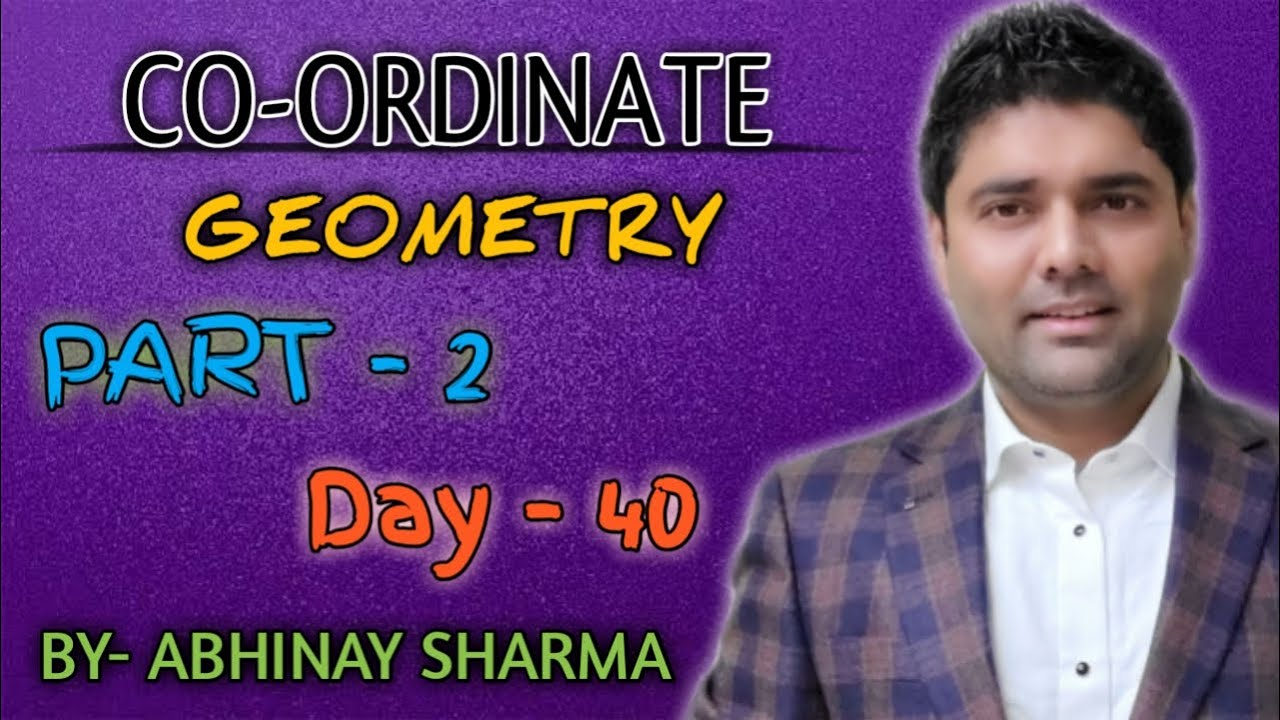Concept of line , image etc. in Coordinate Geometry By Abhinay Sharma