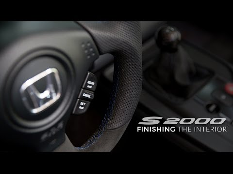 S2000 Interior: E5 - Finishing Up Interior & Seat Reinstall