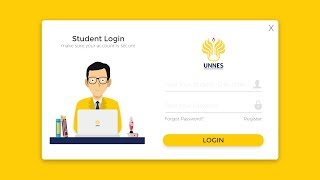 How To Create Student Dashboard UI Design Login Form in VB.NET | Sign In Form Design