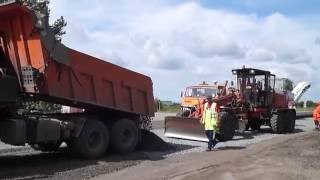 Ремонт дороги в п.Алексеевский Советского района. Июнь 2016