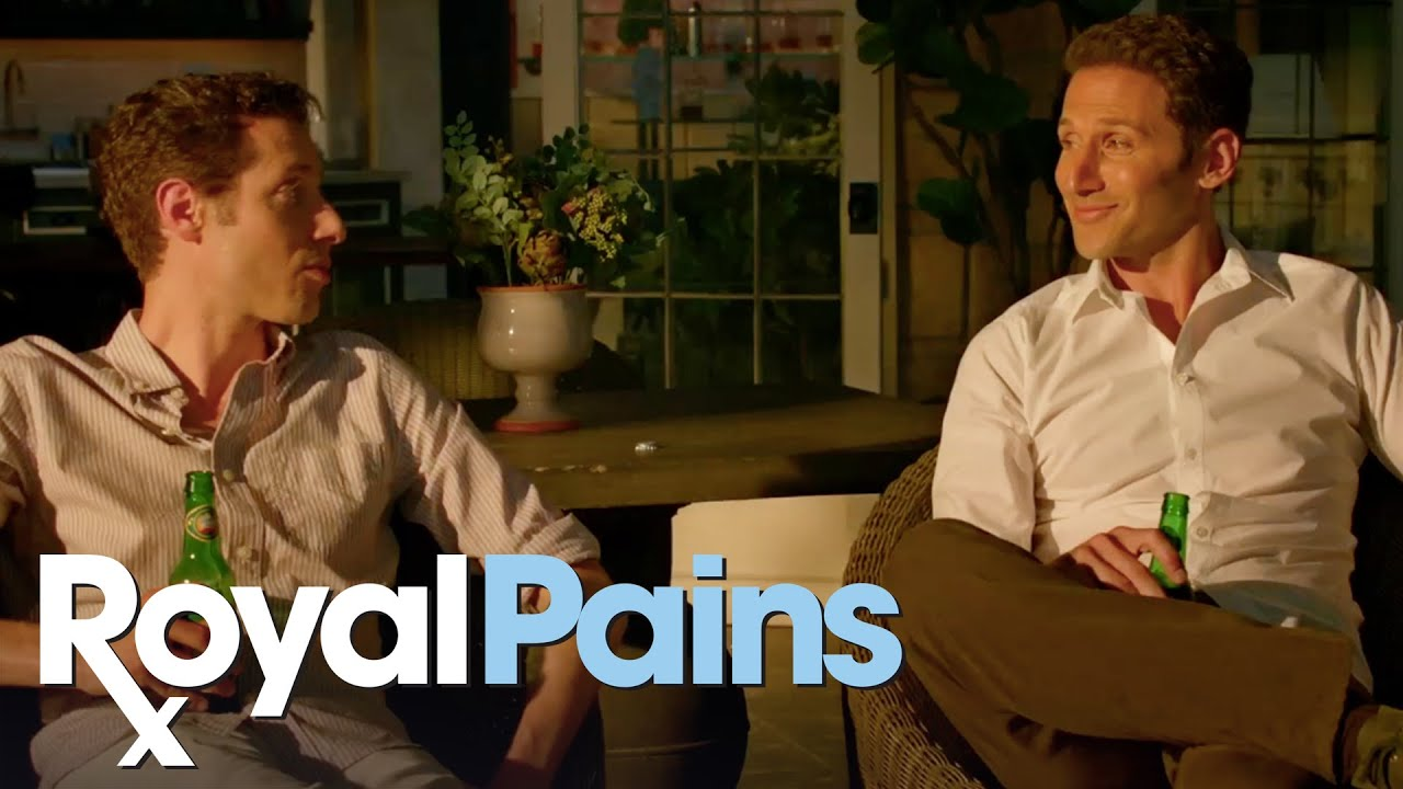 Download Royal Pains   'Hank and Evan Have a Heart to Heart' from 708 (Season Finale)