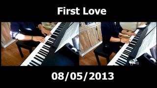 Utada Hikaru - First Love (Wedding Version) | Piano