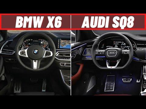 New 2020 BMW X6 M50d VS 2020 Audi SQ8 TDI   Interior & Features   Autocar TV