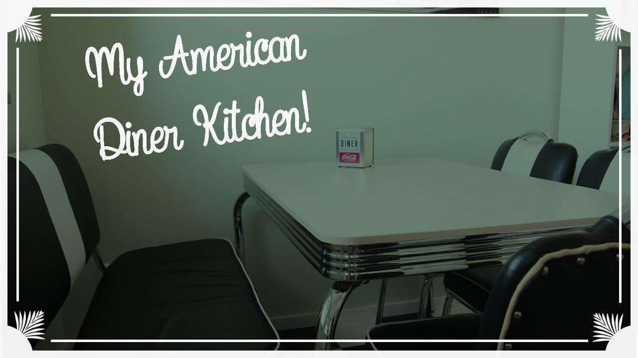 Meine American Diner Küche / Have A Look At My American Diner Kitchen!