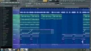 Nicki Minaj ft  Drake - Moment for life Dida Steez Remake Tutorial + mp3 FL Studio 10