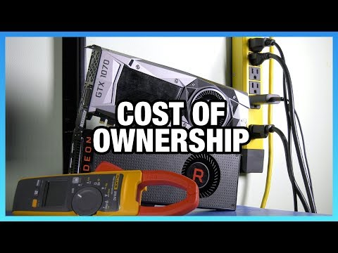 Vega 56 Electricity Cost of Ownership vs. GTX 1070