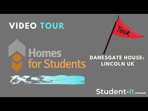 Danesgate House Student Accommodation Tour: Student Accommodation Lincoln