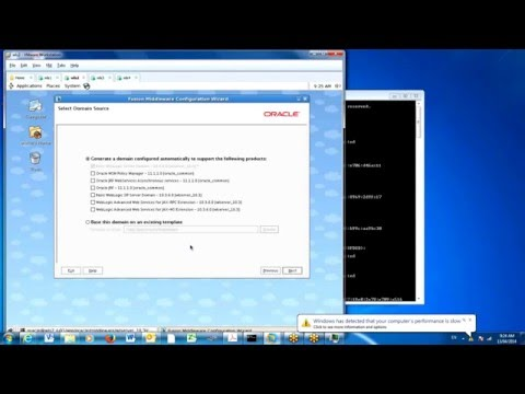 How to create Weblogic Server Domain (Articheture) on linux unix step by step