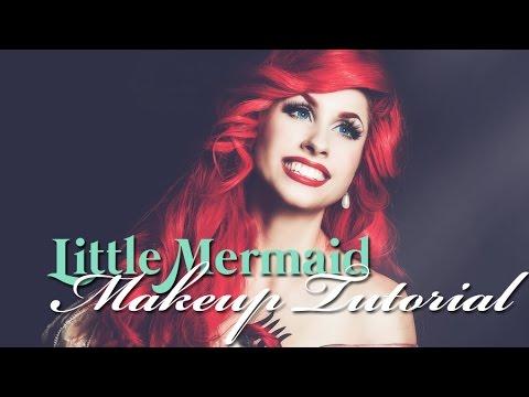 Disney's Little Mermaid - ARIEL MAKEUP TUTORIAL - Traci Hines