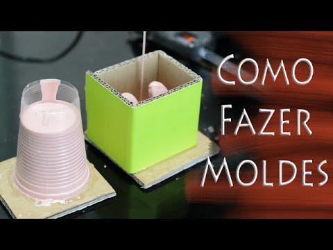 Como fazer moldes de Silicone para Miniaturas | Dica do Corbeira