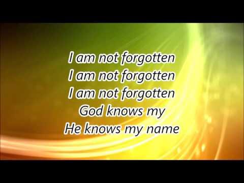 I am not forgotten MVM