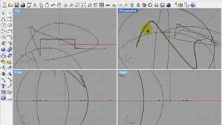 Видеоурок Rhinoceros 4 Урок 2 часть 1