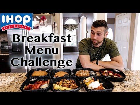 5,000+ Calorie Ihop Breakfast Menu Food Challenge!
