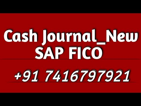 SAP FICO_Cash Journal_New