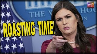 Liberal Reporter makes BIG MISTAKE in Press Room so Sarah Sanders makes him REGRET it