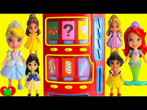 Disney Princess Vending Machine Surprises