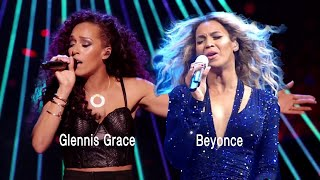 Glennis Grace in duet with Beyonce singing Halo - 2018