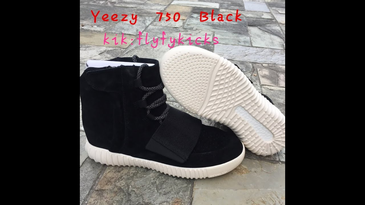 be83c7045 Best Quality Unauthorized Authentic Yeezy Boost 750 with White Sole ...