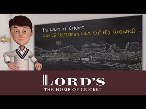 Batsman out of his ground | The Laws of Cricket with Stephen Fry