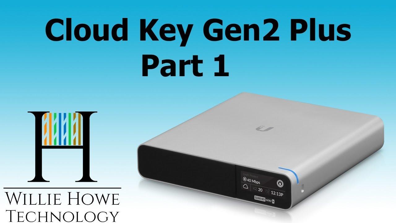 Ubiquiti UniFi Cloud Key Gen2 Plus Part 1