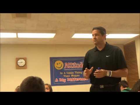 #thinkstrongnow Scott Gibbs' Presentation Opiate Awareness