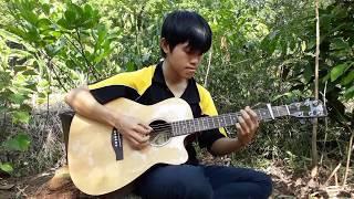 Vùng Lá Me Bay - Guitar Solo Fingerstyle - Như Quỳnh