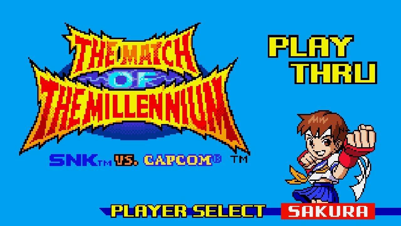 SNK vs Capcom Match of the Millennium Gameplay