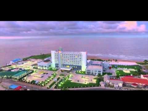 Georgetown Guyana Aerial view