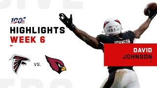 David Johnson 2 TD Day | NFL 2019 Highlights