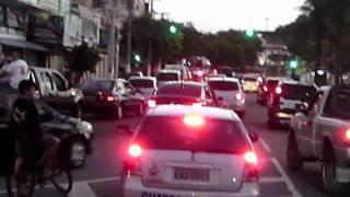 Carnaval em Cabo Frio Vasco Campeão da Copa do Brasil 2011 Carreata seguiu Trem Bala da Colina