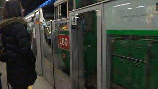 16 12 2013 調景嶺站供電故障 肇事列車 c train a365 366 被5輛港鐵工程車牽引回廠