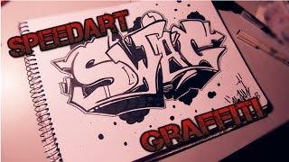 SpeedArt Swag Graffiti