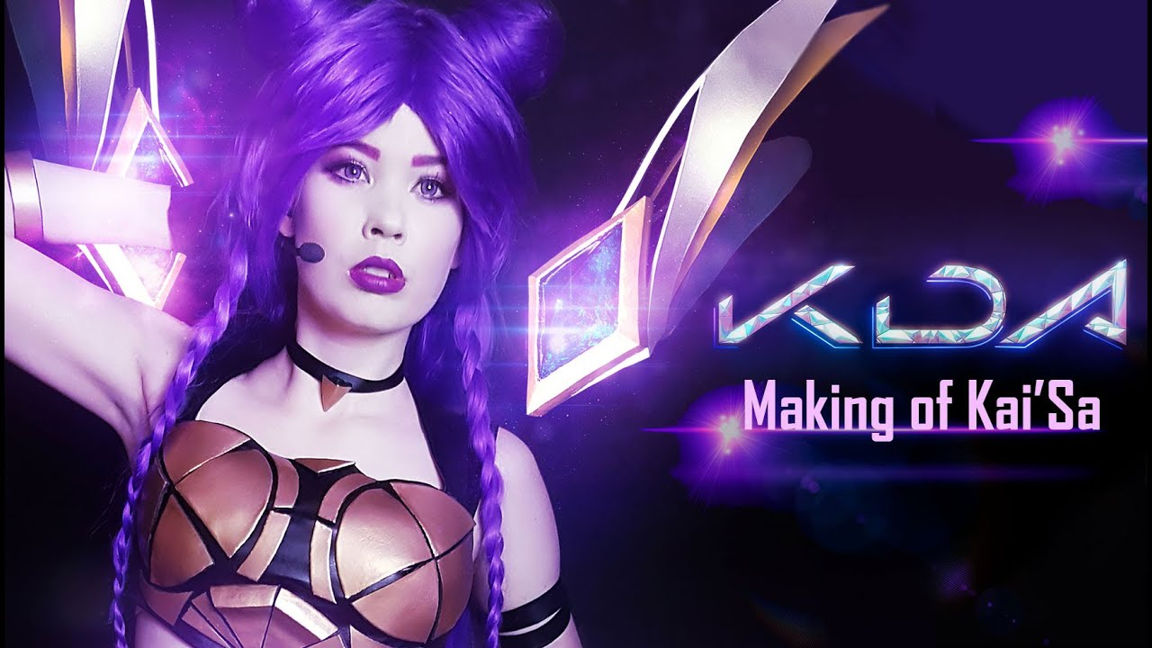 K Da Kai Sa Cosplay Making Of Showcase Youtube