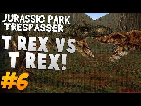 Jurassic Park: Trespasser  Lets Play 6  T-Rex vs T-Rex